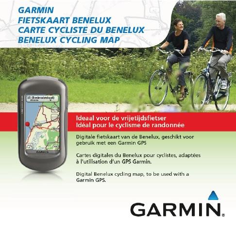 Garmin fietskaart benelux