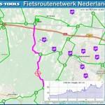 fietsroute netwerk