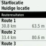 route voorstel