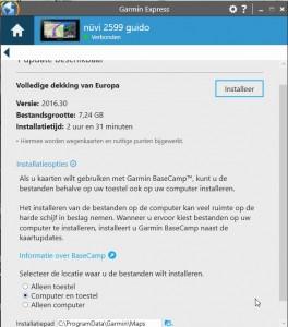 Garmin city navigator EU 2016.30 is beschikbaar