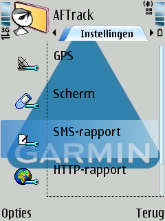 sms instelling