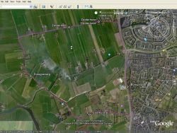 route in google earth