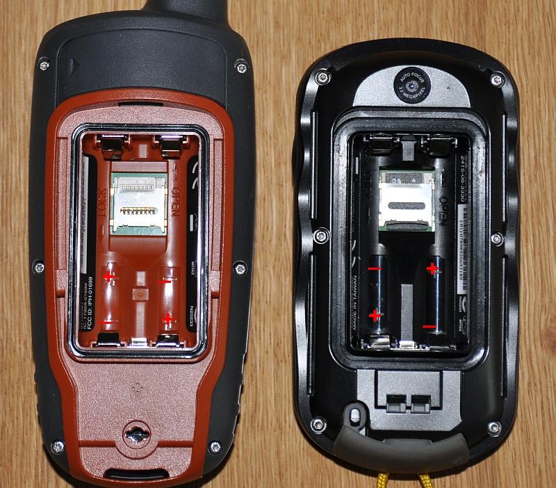 gpsmap 62 batterijvak