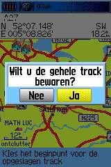 trackscherm