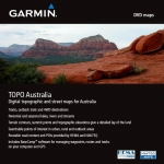 topo Australie