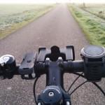fenix3 op fiets